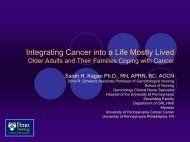Older Adults and Their Families Coping with Cancer - Dana-Farber ...