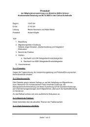 Protokoll MV 2005-12-06 - Die Grünen Duisburg