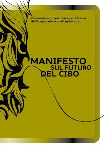 Manifesto sul Futuro del Cibo - Arsia