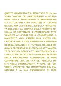 Manifesto sul Futuro del Cibo - Arsia - Page 4