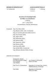 Protokoll der 4. Sitzung am 11. Januar 2012 (pdf ... - Hafenausschuss