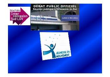 Consulter la présentation de l'Association jeunesse en mouvement
