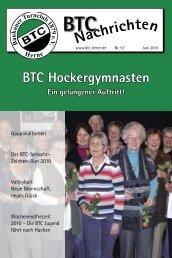 BTC Nachrichten Nr. 97 - Juni 2010 - Baukauer Turnclub in Herne