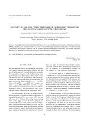 treatment of isolated pistils with protease inhibitors ... - doiSerbia