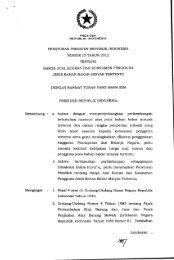 Peraturan Presiden RI No.15 Tahun 2012 - Departemen Energi dan ...