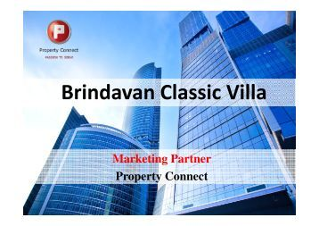 Brindavan Classic Villa - Property Connect Search - Propconnect.in