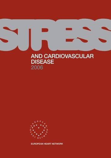 Stress and Cardiovascular Disease - European Commission
