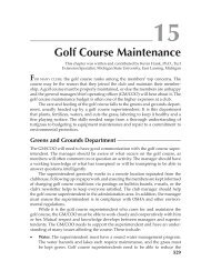 Golf Course Maintenance - CMAA