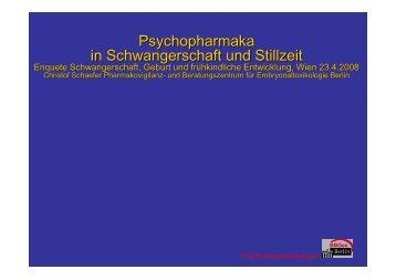 Psychopharmaka in Schwangerschaft und Stillzeit
