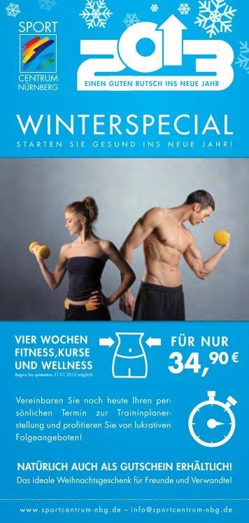 WINTERSPECIAL - Sport Centrum Nürnberg