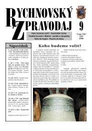 Rychnovský zpravodaj 9/2006