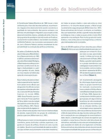 o estado da biodiversidade - UFF