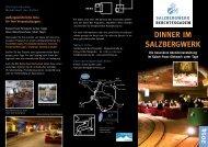 Dinner im Salzbergwerk 2014 - Das Salzbergwerk Berchtesgaden