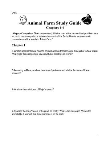 Animal Farm Study Guide | GradeSaver