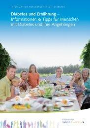 Diabetes und Ernährung - DiabetologiePortal