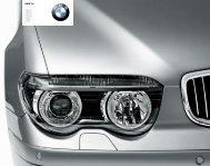 BMW 7er 730i/Li 735i/Li 745i/Li 760i/Li 730d 740d