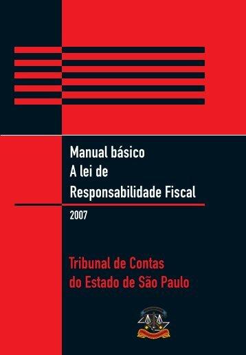 24200006 miolo.indd - Tribunal de Contas do Estado de São Paulo