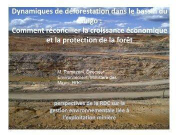 Perspectives de la RDC - PROFOR