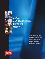Manu. Supplier Council bro. - the Mechanical Contractors ...