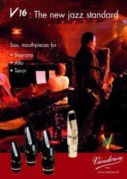: The new jazz standard - vandoren