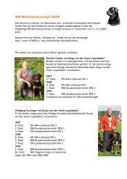 IFR-Weltmeisterschaft 2009 - Österreichischer Rottweiler Klub