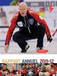 RAPPORT ANNUEL 2011-12 - Canadian Curling Association