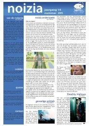 noizia onderzoekt gevoelige politiek van de redactie ... - Inter-/Actief