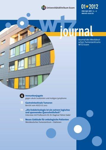 WTZ-Journals - Westdeutsches Tumorzentrum Essen