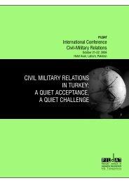 Civil-Military Relations in Turkey…[PDF] - Pildat.org