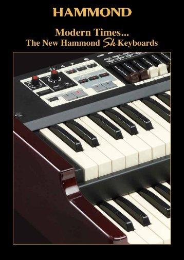 The New Hammond Keyboards - Hammond.de