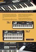 The New Hammond Keyboards - Hammond.de - Page 3