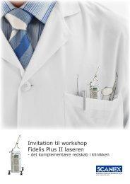 Invitation til workshop - Scanex Medical Systems A/S