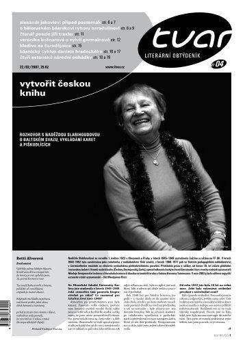 Tvar 4/2007