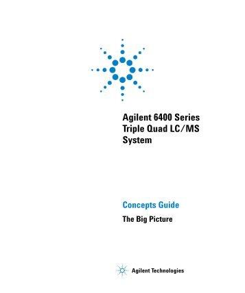 Agilent 6400 Series Triple Quad LC/MS System - K'(Prime ...