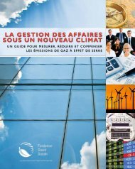 la gestion des affaires sous un nouVeau climat - Desjardins