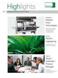 Marco Hollander – Product Manager Marelec Food Tech ... - Habasit