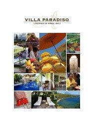 VILLA PARADISO - Home