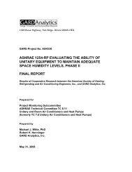 ASHRAE 1254RP Final Report - DOAS
