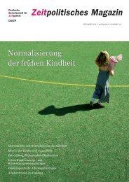 Download ZpM Nr. 19 - Deutsche Gesellschaft für Zeitpolitik