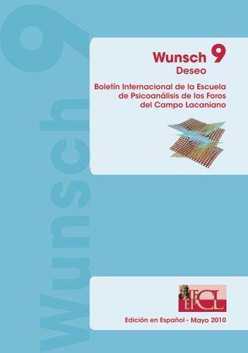 Wunsch - Número 9: Mayo 2010