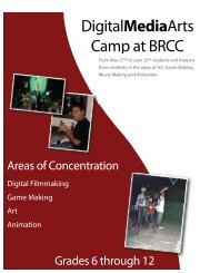 DMA Summer Camp Packet - Baton Rouge Community College