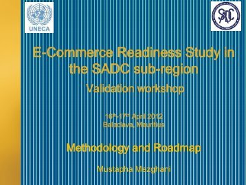 E-Commerce Readiness Study in the SADC sub-region - ICTA