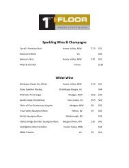 Sparkling Wine & Champagne White Wine - Oaks Hotels & Resorts