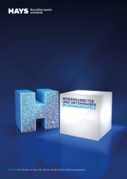 Download PDF - HAYS Wissensarbeiter Studie