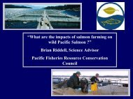 """""""What are the impacts of salmon farming on wild Pacific Salmon ..."""