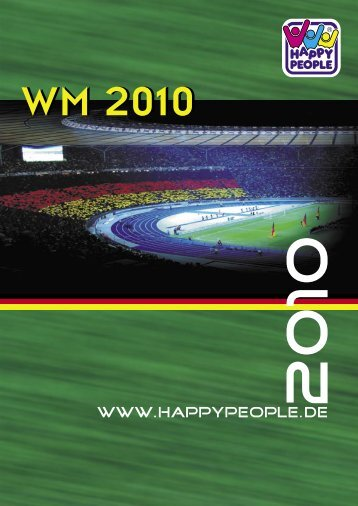 WM Flyer 2010.indd - Happy People GmbH & Co. KG