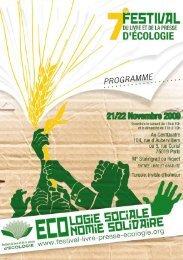 Programme - La Semaine de la solidarité internationale