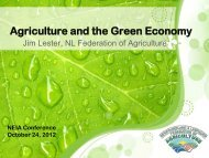 Agriculture and the Green Economy - NEIA