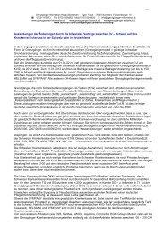 Änderungen durch die bilateralen Abkommen zwischen EU - Schweiz