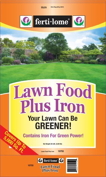 Lawn Food Plus Iron 24-0-4 Label - Do My Own Pest Control
